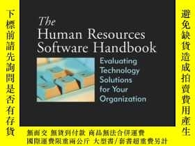 二手書博民逛書店The罕見Human Resources Software Handbook: Evaluating Techno