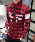 格子襯衫 優惠低價款  紅色   兩色供應中唷  到5XL 大碼襯衫