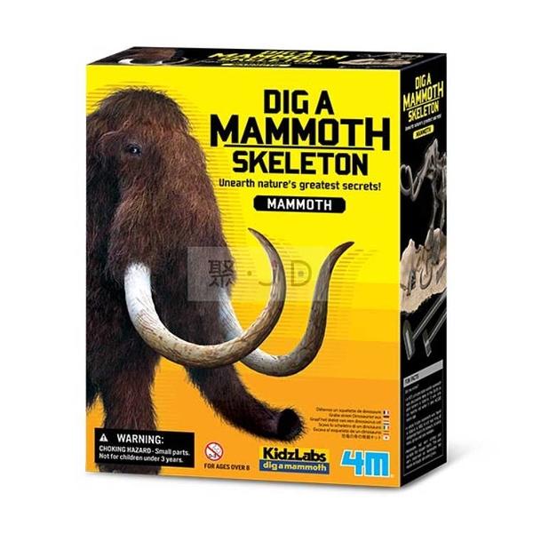【4M】挖掘恐龍系列 - 00-03236 挖掘長毛象 Dig a Mammoth Skeleton