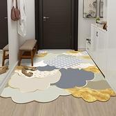 輕奢皮革入戶門地墊家用墊子可擦免洗pvc 進門墊玄關腳墊門口地毯一米