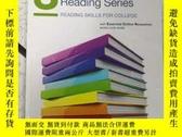 二手書博民逛書店朗文學術閱讀3英文原版罕見Longman academic re