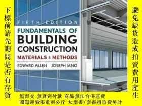 二手書博民逛書店Fundamentals罕見Of Building ConstructionY364682 Edward Al