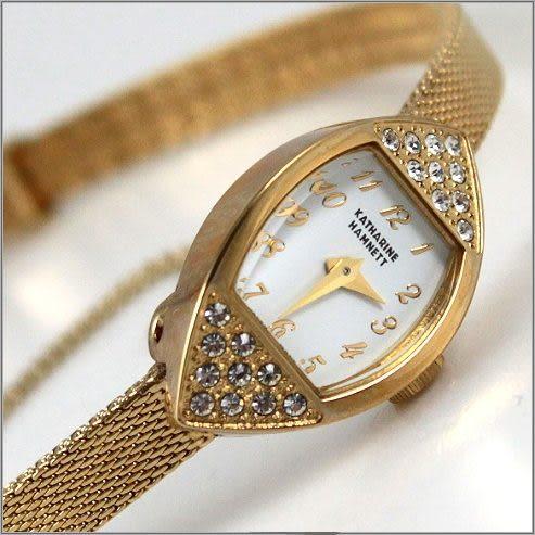 【萬年鐘錶】KATHARINE HAMNETT 古典時尚錶 KH0867-B01