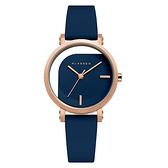 【台南 時代鐘錶 Klasse14】IMPERFECT 鏤空透視時尚女錶 WIM20RG018W 玫瑰金/藍 32mm 送原廠替用錶帶