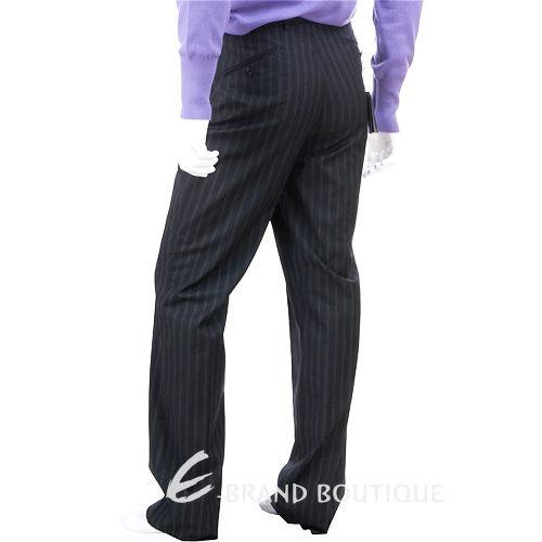 KENZO 條紋西裝褲(黑/灰色) 0511097-58