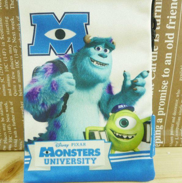 【震撼精品百貨】Monsters University_怪獸大學~束口袋/縮口袋-藍白色