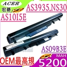 GATEWAY 電池(OEM最高規)-捷威  NS30,EC34,NS30I01FR,NS30I01AE,,AS10I5E,AS09B3E,AS09B35,AS09B58
