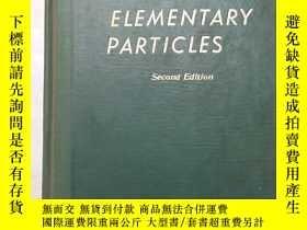 二手書博民逛書店theory罕見of elementary particles(