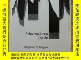 二手書博民逛書店International罕見Trade (perspectives On Economics Series)-國