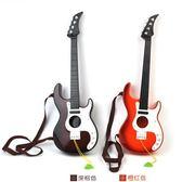 電吉他 兒童音樂觸摸電子吉他可彈奏仿真樂器搖滾初學者男孩女孩大號玩具 igo 歐萊爾藝術館