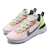 Nike 慢跑鞋 Wmns React Element 55 PRM 粉紅 黃 女鞋 運動鞋 【ACS】 CD6964-600