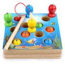 兒童木質磁性小孩釣魚玩具1-2-3周歲兩...