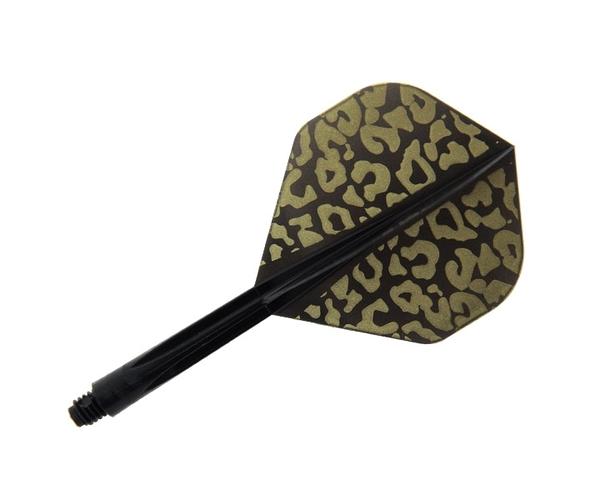 【CONDOR】Leopard Standard Medium Black 鏢翼 DARTS