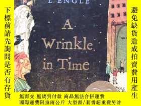 二手書博民逛書店A罕見Wrinkle in Time【英文原版】精裝32開【外文書--38】Y16161
