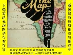 二手書博民逛書店On罕見the Map Simon GarfieldY24302