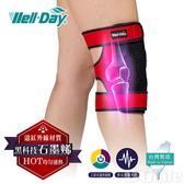 《晶宴》石墨烯 動力式熱敷墊 護膝 WDGH326
