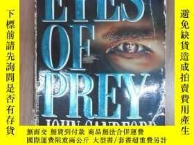 二手書博民逛書店外文書罕見RYES OF PREY(共358頁,32開) 扉頁有字跡Y15969