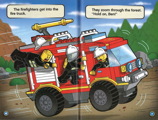 LEGO CITY (樂高城市):FIRE IN THE FOREST! /L1