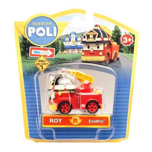 Robocar POLI 羅伊 ROY 消防車 合金車 TOYeGO 玩具e哥