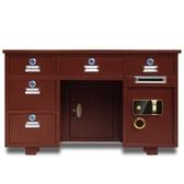 全鋼保險桌家用1.3米指紋投幣財務收銀1.6米辦公桌帶保險櫃的桌子ATF 歐尼曼家具館