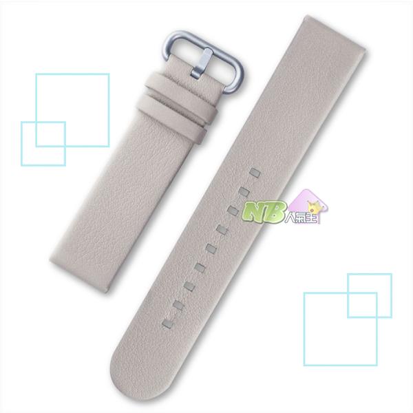 Braloba Technogel 20mm 皮革 錶帶 ◤Samsung Galaxy Watch Active2 適用◢