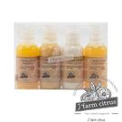 韓國 J farm citrus 低溫菁萃濟洲島柑橘洗潤沐浴旅行組 (50ml×4款/組) 植物沐浴乳 洗髮 潤髮 柑橘菁萃