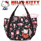 小禮堂 Hello Kitty 帆布托特...