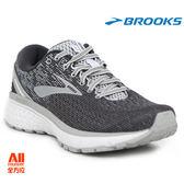 【BROOKS】女款避震型慢跑鞋 GHOST 11 -淺灰黑(771B003)【全方位運動戶外館】
