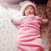 嬰兒裹布 嬰兒抱被新生兒小包被薄款裹布初生用品寶寶包巾單 珍妮寶貝