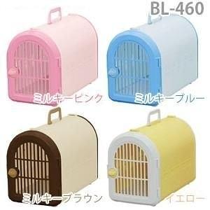 *WANG*IRIS仿藤紋側開寵物提籃BL-460(附專用背袋)小型犬貓用/五種顏色可選、運輸籠/提籠/外出籠