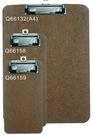 力大牌 ABEL   66158    230X105mm原色板夾 / 個