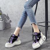 內增高女鞋10cm2女鞋厚底休閒運動透氣網鞋 萬客居