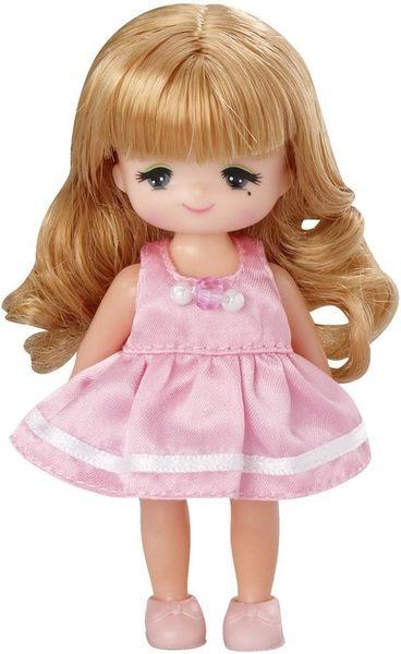 Licca 莉卡娃娃LD-22真紀小女孩 LA38369 (高約10公分內含美紀娃娃及鞋子)TAKARA TOMY
