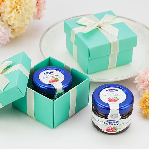 幸福婚禮小物❤繽紛蒂芬妮造型喜糖盒❤喜糖盒/果醬盒/禮品包裝/小禮物/桌上禮