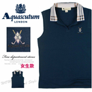 【大盤大】Augascutum 女 S號 夏 無袖 背心 專櫃 正品 有領 百貨 名牌 禮物 時尚 品味 體面
