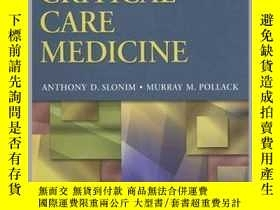 二手書博民逛書店Pediatric罕見Critical Care MedicineY16798 Pollack, Murray