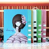 韓國復古密碼本學生日記本可愛筆記本文具帶鎖兒童記事本彩頁