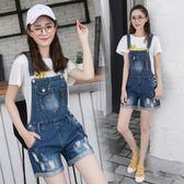 2018春夏新款韓版學生顯瘦寬鬆高腰破