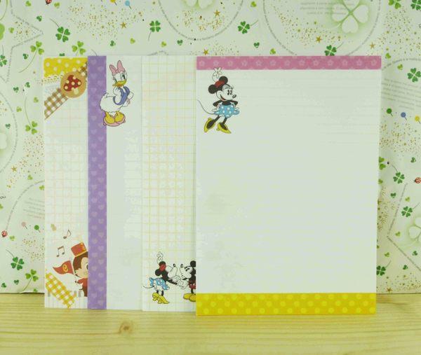 【震撼精品百貨】Micky Mouse_米奇/米妮 ~便條-格子圖案