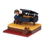 《 Nano Block 迷你積木 》NBH-167 鋼琴╭★ JOYBUS玩具百貨