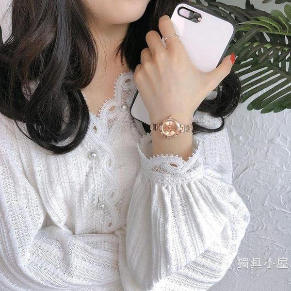 ins手錶女學生韓版簡約潮流小清新女生復古ulzzang小巧chic手 式