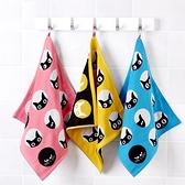 3條裝 小方巾擦手巾可愛毛巾純棉洗臉家用吸水【聚寶屋】