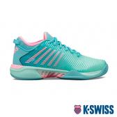 K-SWISS Hypercourt Supreme輕量進階網球鞋-女-綠/霓虹粉