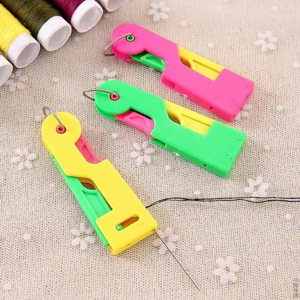 自動穿針引線器老人穿針器縫紉機穿線器快速認針器DIY工具JRM-1455