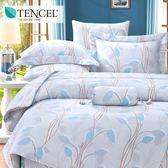 ✰特大 薄床包兩用被四件組✰ 100%純天絲《莫凡詩》