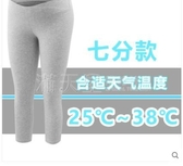 孕婦七分褲低腰打底褲夏裝純棉孕婦裝薄款褲子夏季短褲外穿安全褲 滿天星
