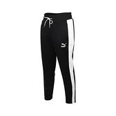 PUMA 女流行系列T7煙管長褲(歐規 針織 運動 慢跑 路跑  ≡排汗專家≡