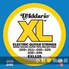 【缺貨】D'Addario EXL125 電吉他弦(09-46) 美國製 EXL-125 DAddario