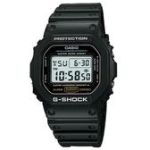 【CASIO】 G-SHOCK經典款運動錶-黑(DW-5600E-1)