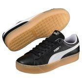 Puma 黑 女鞋 板鞋 休閒鞋 滑板鞋 運動 Platform 餅乾鞋 厚底 皮革 復古 36680502